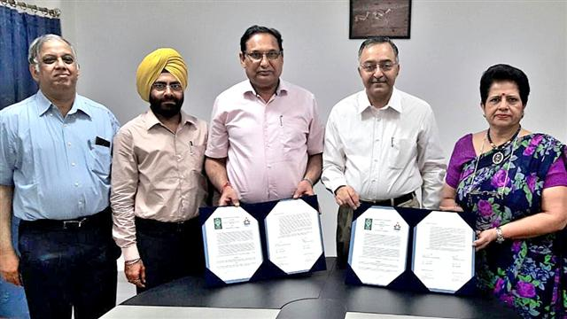 DAV University signs MoU with Central University, Punjab to promote research and innovation