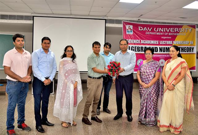 Shanti Swarup BhatnagarPrize awardee motivates students at DAV University