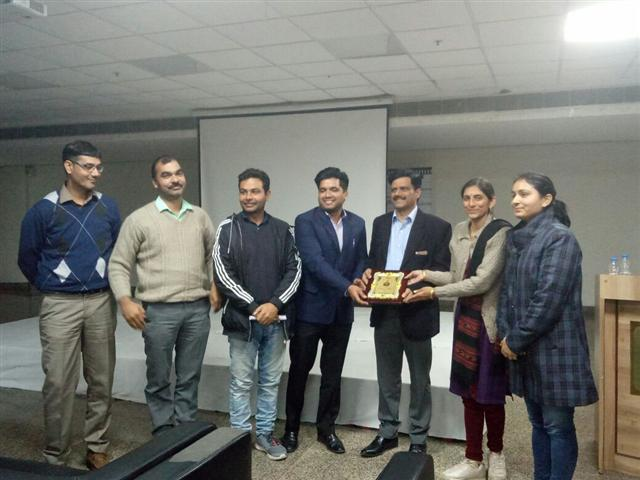 Renowned plant scientist Prof. (Dr.) Pratap Kumar Pati apprised the graduate students of Department of Agriculture at DAV University