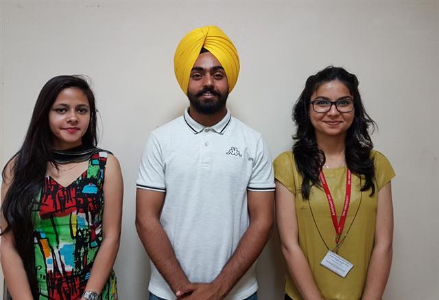 3 DAVU students get job in Decathlon Sports India