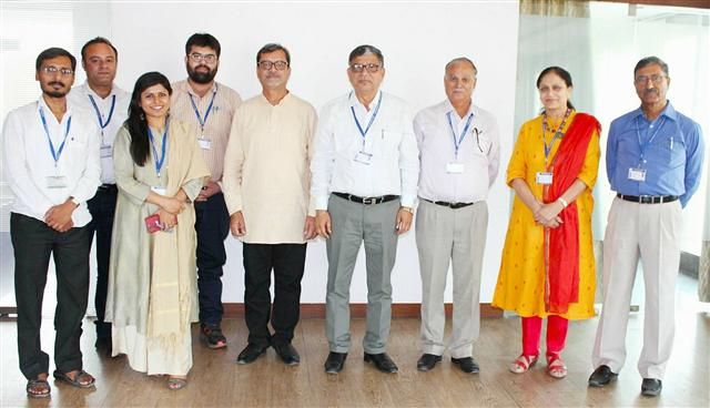 Eminent Prof. Rajesh Kumar Sharma holds a Workshop on Creative Writing
