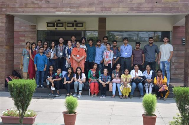 The industrial trip for B. Tech (Chemical) students to Ralson India Limited was organized by the Department of Chemical Engineering, DAV University.