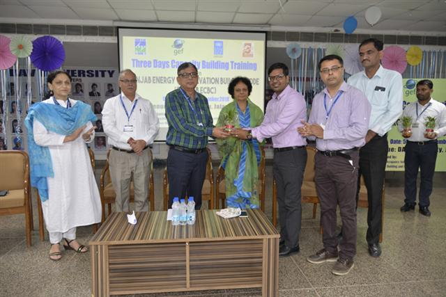 PEDA organises training programme at DAV University on energy conservation.