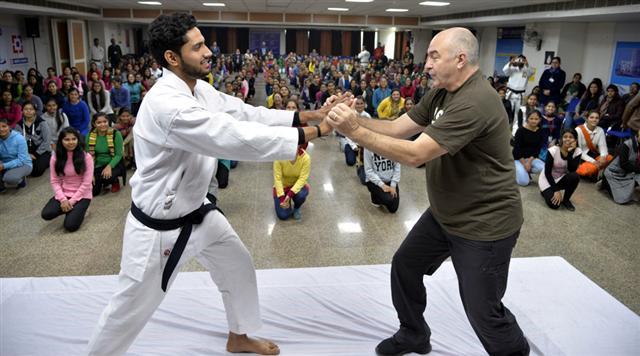 DAV University organises self-defence camp for girls
