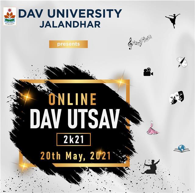 DAV University will organize DAV UTSAV 2k21 Online