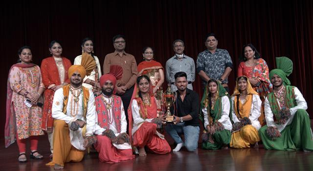 DAV University celebrated Teej Festival