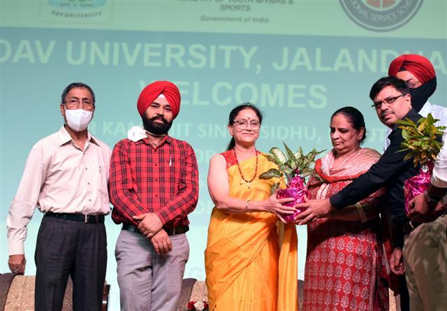 DAV University, Jalandhar organized a state level camp Pre-RD camp