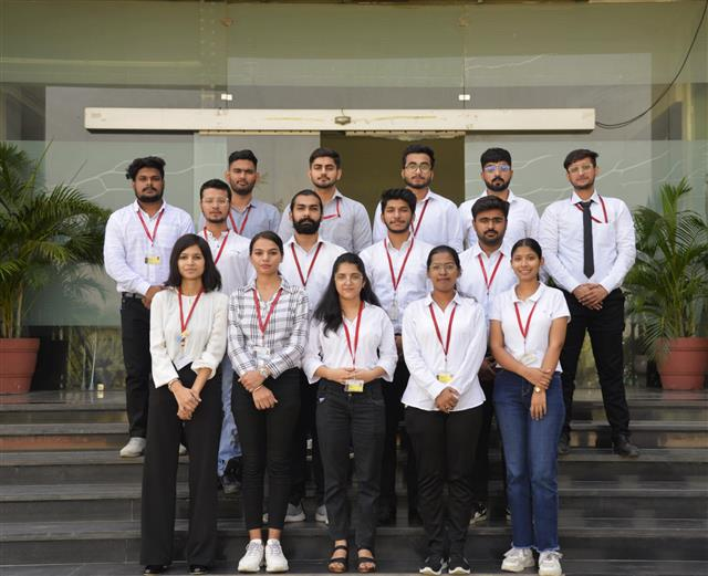 MNC's appointed 21 students of DAV University